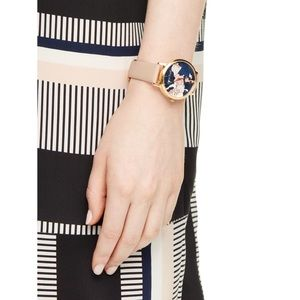 Kate Spade Vachetta Leather Going Places Watch